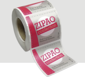 etiquette vetement-etiquettes tissus-etiquette autocollant vetement