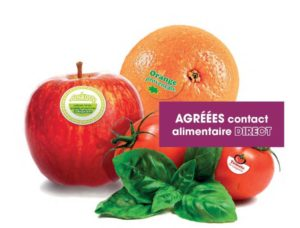 etiquettes  autocollantes Contact alimentaire -étiquettes alimentaires
