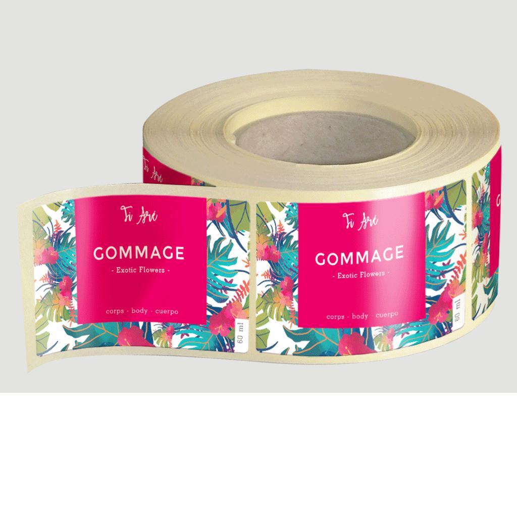 etiquettes-autocollantes PARIS-pelicullées-etiquettes-adhesives-paris.etiquettes-professionnelles
