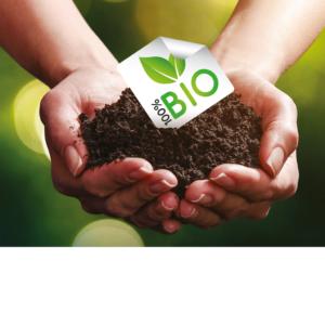 etiquettes écologiques BIODEGRADABLE