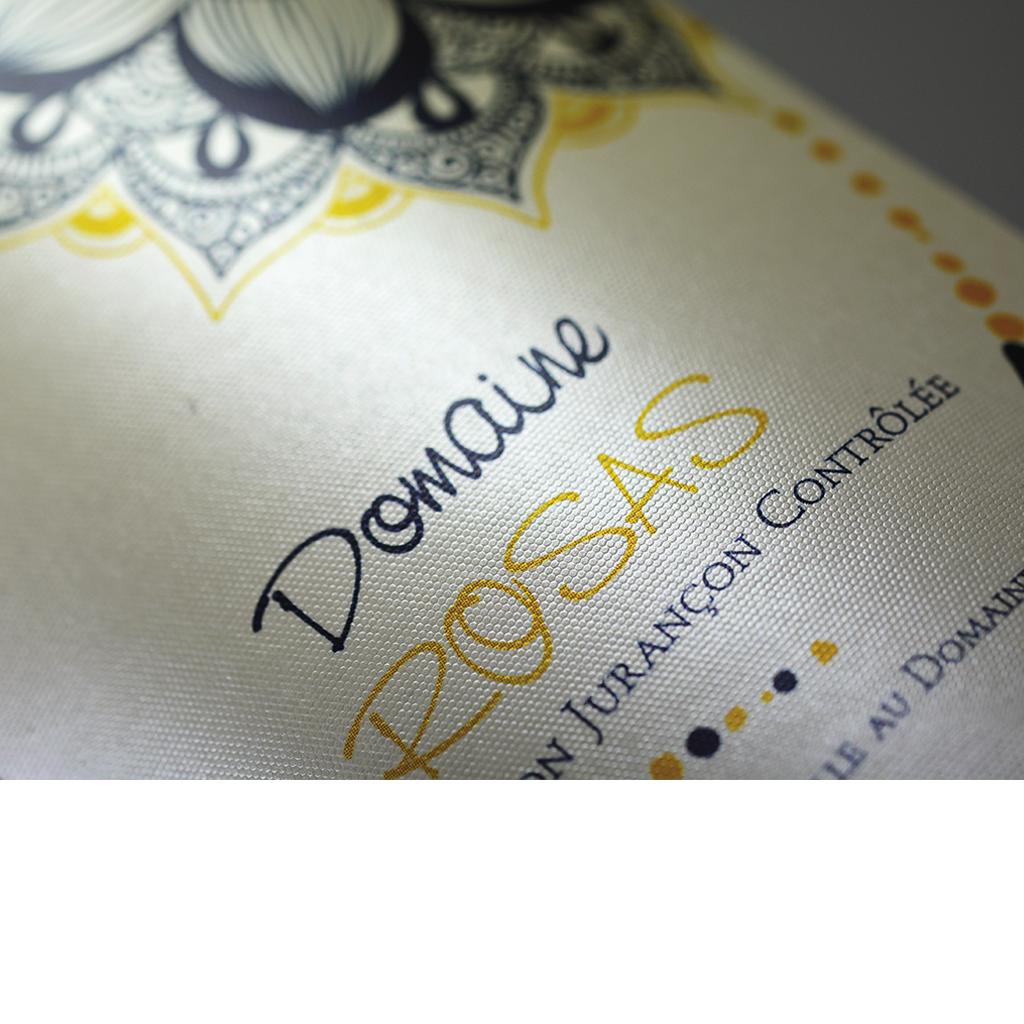 etiquettes autocollantes papier VERGÉ -  étiquettes Papiers VERGÉ BLANC -  etiquettes Papiers VERGÉ CREME - ADAPTÉ AU MARCHÉ VITICOLE Classicisme et tradition