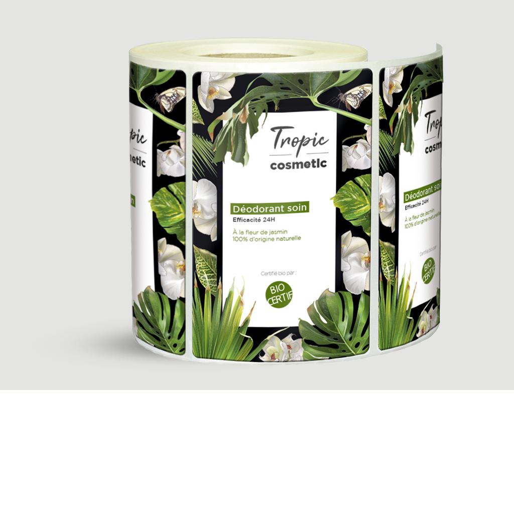 étiquettes adhésives ecologiques -etiquettes autocollantes  100 % biodégradables -etiquettes biodegradables
