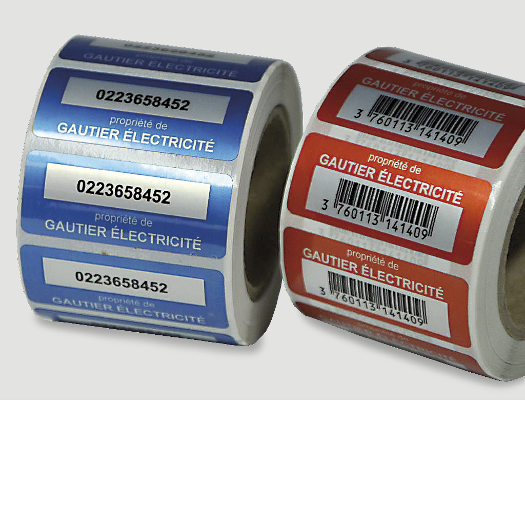 etiquette autocollante waterproof-etiquettes autocollantes ultra-résistantes etiquette inalterable-etiquette plastique-etiquette autocollante extérieur INDUSTRIE