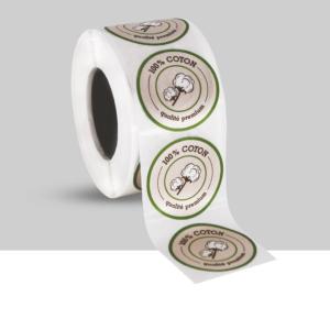 etiquettes autocollantes textiles - etiquettes vetements
