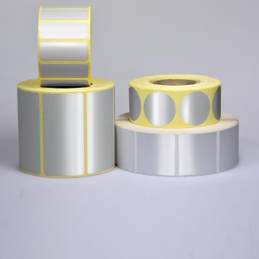 étiquettes papier thermiques - étiquettes papier alu - étiquettes  autocollantes papier thermiques
