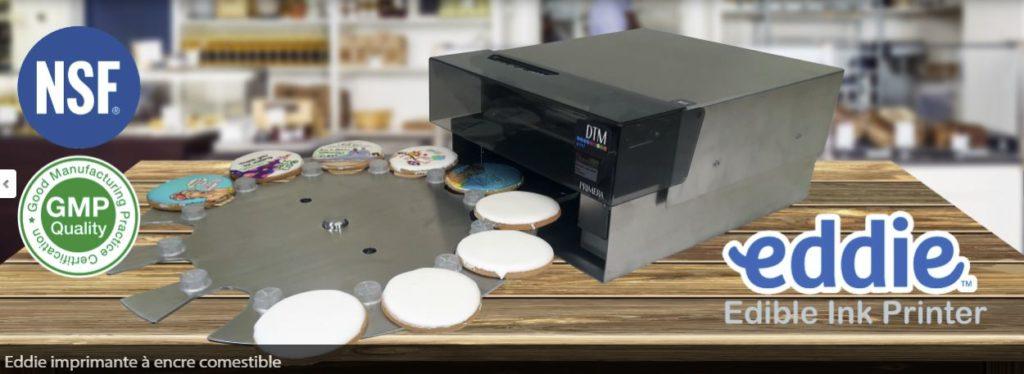imprimante alimentaire -imprimante encre alimentaire