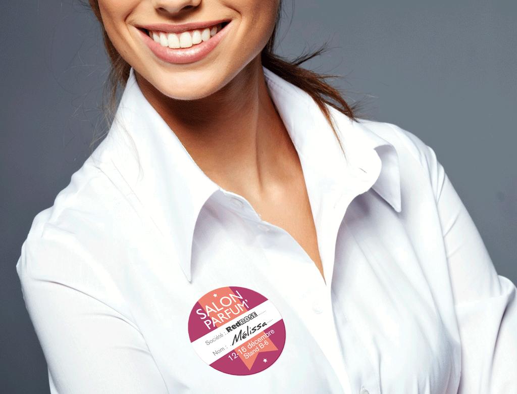 badges- badges magnetique-maxi-badge-bages polyester-badges textiles