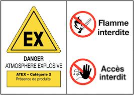 étiquettes autocollantes électriques ATEX - étiquettes autocollantes électroniques ATEX- électronique ATEX