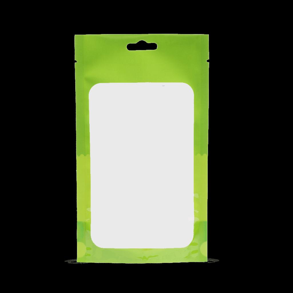 transparent-brillant-doypack  transparent avec fenetre